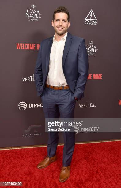 David Levinson arrives at the Welcome Home Premiere at The London West Hollywood on November 4 2018 in West Hollywood California