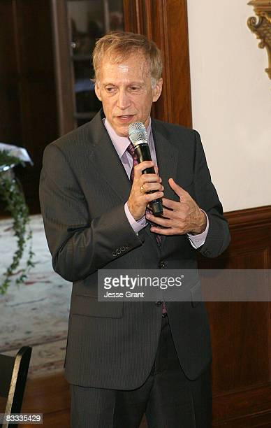 David Lewis attends the wedding of Michael Feinstein and Terrence Flannery held at a private residence on October 17 2008 in Los Angeles California