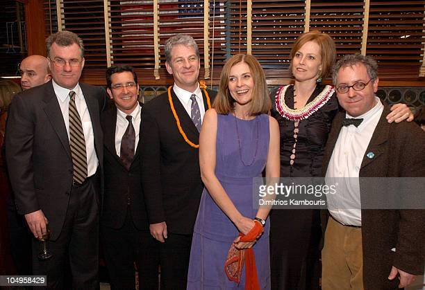 David Linde producer Jason Kliot director Jim Simpson Anne Nelson Sigourney Weaver and James Schamus