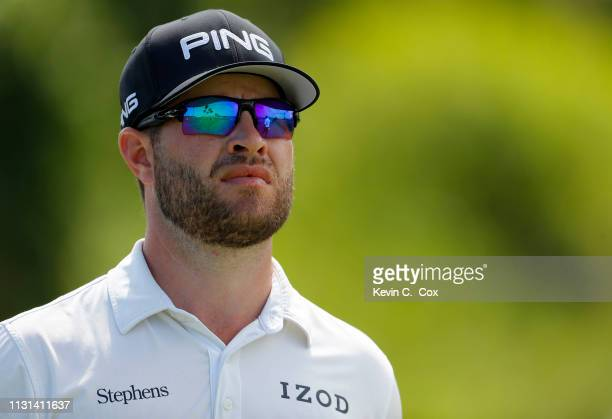 David Lingmerth of Sweden walks off the eighth tee during the second round of the Puerto Rico Open at Coco Beach Golf and Country Club on February...