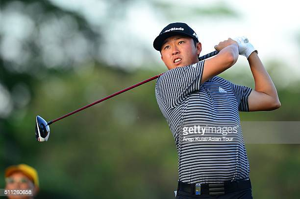 David Lipsky of USA pictured during round two of the Maybank Championship Malaysia at Royal Selangor Golf Club on February 19 2016 in Kuala Lumpur...