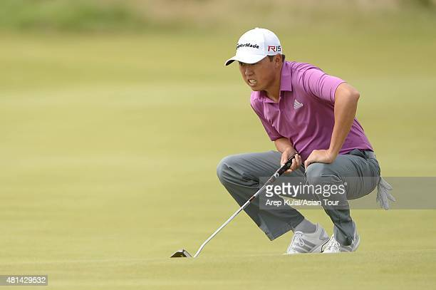 David Lipsky of USA pictured during The 144th Open Championship at The Old Course on July 20 2015 in St Andrews Scotland