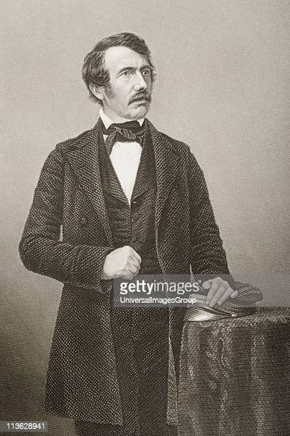 David Livingstone 18131873 Scottish missionary and explorerEngraved by DJ Pound from a photograph by Mayall From the book 'The DrawingRoom Portrait...