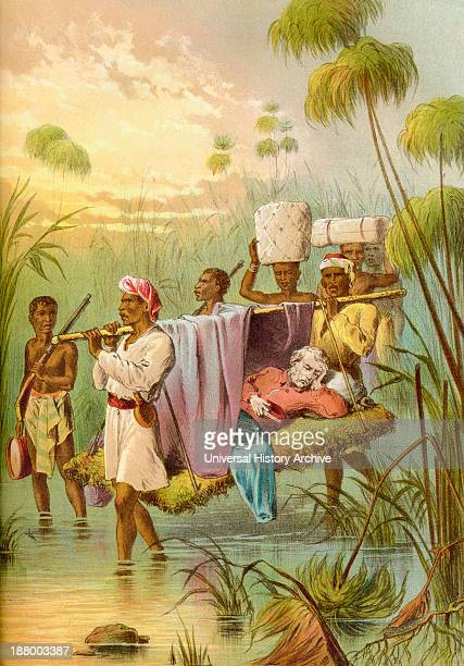 David Livingstone Being Carried 'the Last Mile' To Die At His African Home In Ujiji Tanganyika Tanzania Africa In 1873 Dr David Livingstone 18131873...