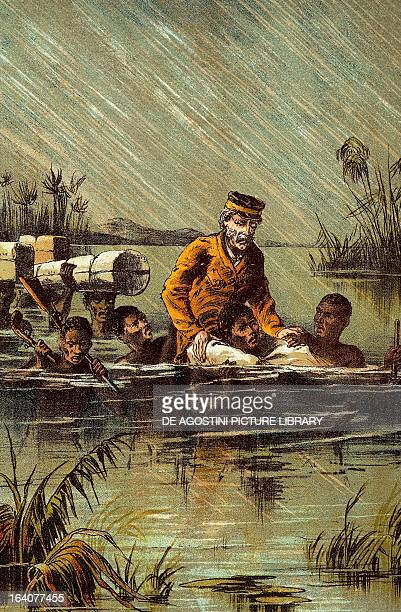David Livingstone during his last expedition to Africa to find the source of the Nile undertaken between 1866 and 1873 Africa 19th century