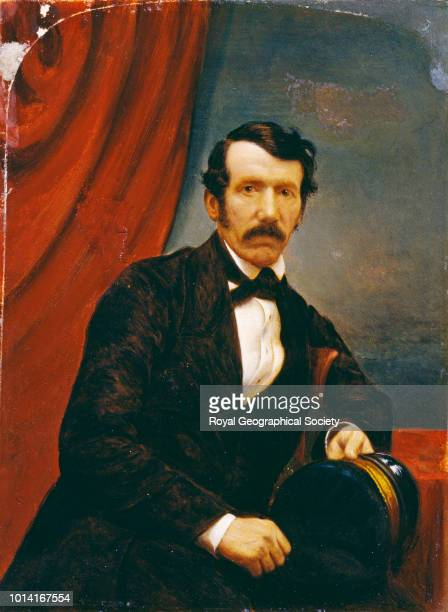 David Livingstone Miniature in oils painted by Monson in December 1857 for the Reverend W Monk of St John's College Cambridge 01/12/1857