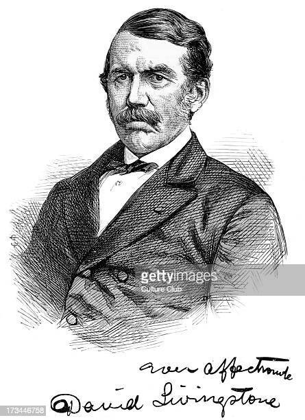 David Livingstone portrait with autograph Scottish Congregationalist pioneer medical missionary with the London Missionary Society and an explorer in...