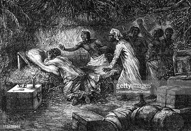 UNSPECIFIED David Livingstone Scottish missionary and African explorer kneeling in prayer by his bedside found dead by his native servants 1 May 1873...