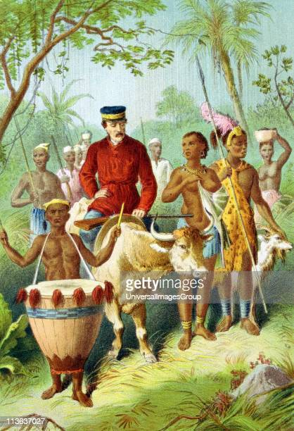 David Livingstone Scottish missionary and explorer During African travels explored the Zambesi and 'discovered' Victoria FallsLivingstone weak with...
