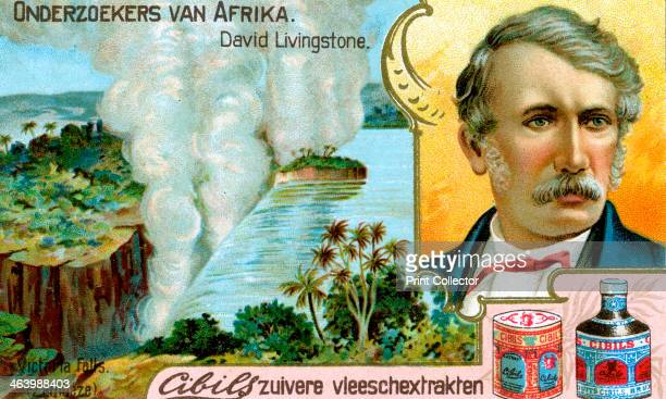 David Livingstone Scottish missionary Portrait of Livingstone the first European to see Victoria Falls which he named after Queen Victoria Dutch...