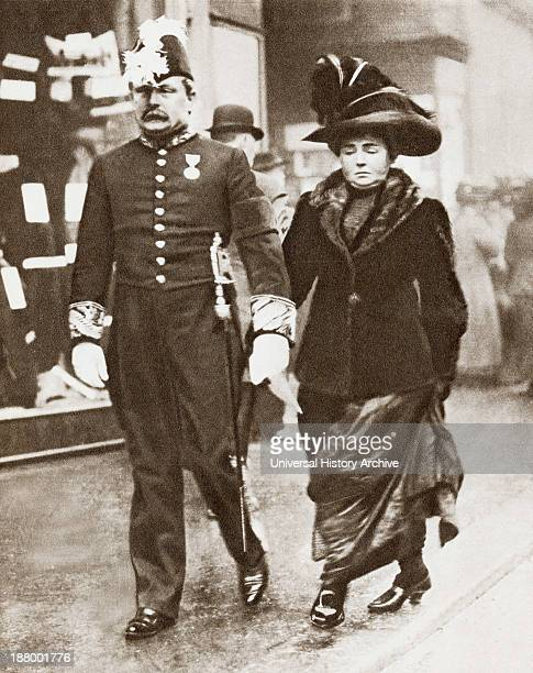 David Lloyd George 1St Earl LloydGeorge Of Dwyfor 1863 – 1945 Seen Here With His First Wife Dame Margaret Lloyd George1866 – 1941 Nee Margaret Owen...
