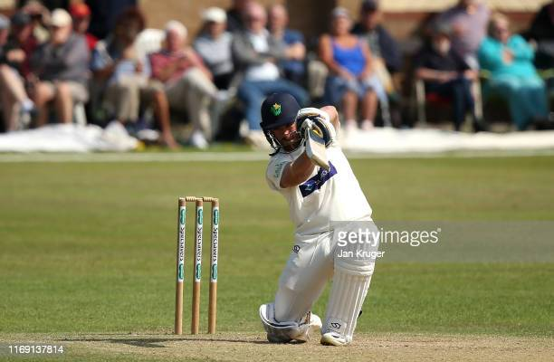 David Lloyd of Glamorgan bats during day three of the Specsavers County Championship: Division Two match between Glamorgan and Lancashire on August...
