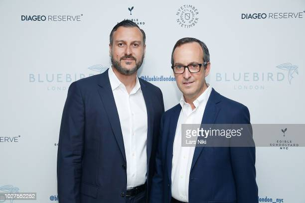 David Loewi attends the Bluebird London New York City launch party at Bluebird London on September 5 2018 in New York City