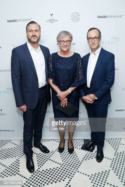David Loewi attends the Bluebird London New York City launch party at Bluebird London on September 5, 2018 in New York City.