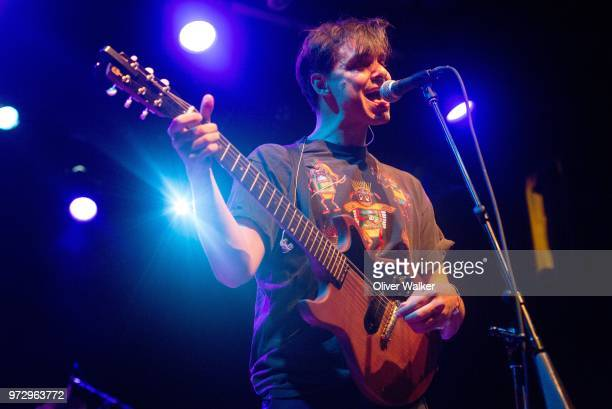 David Longstreth of Dirty Projectors performs at El Rey Theatre on June 12 2018 in Los Angeles California
