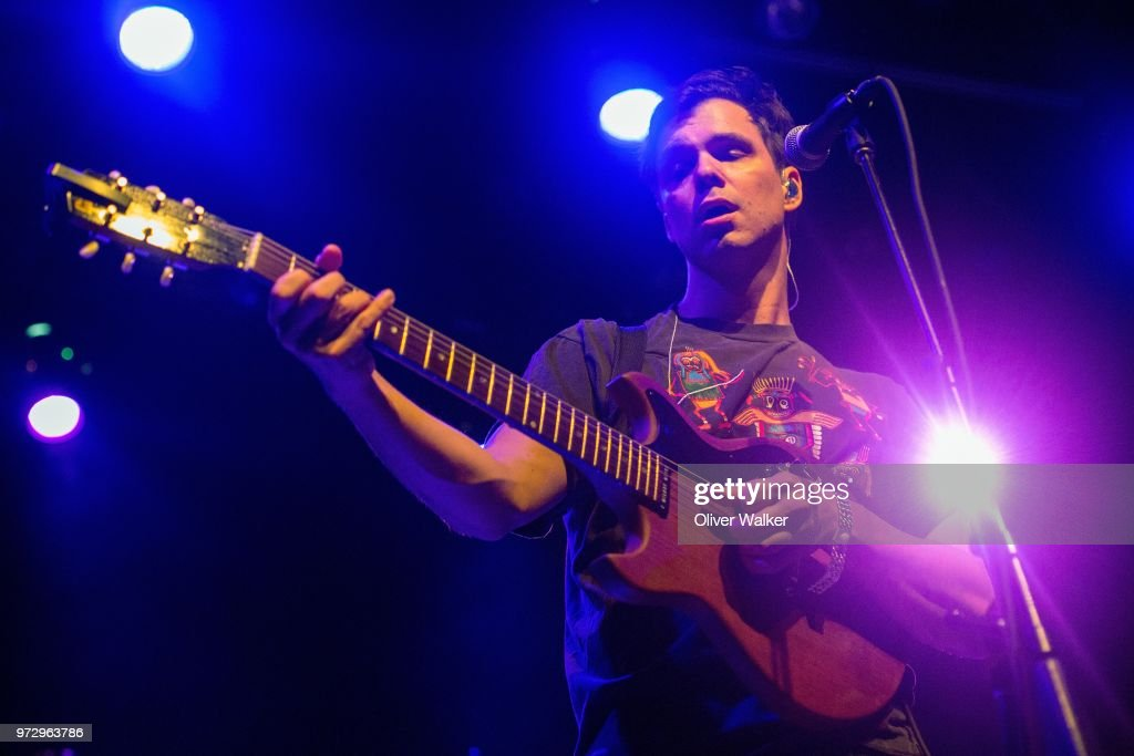 David Longstreth of Dirty Projectors performs at El Rey Theatre on June 12, 2018 in Los Angeles, California.