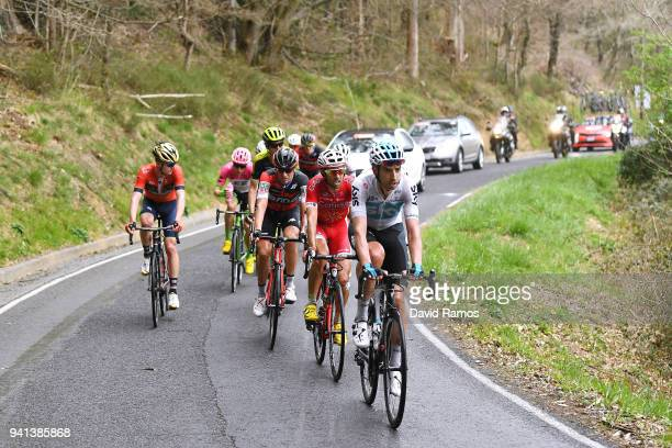 David Lopez Garcia of Spain and Team Sky / Daniel Navarro Garcia of Spain and Team Cofidis Solutions Credits / Damiano Caruso of Italy and BMC Racing...