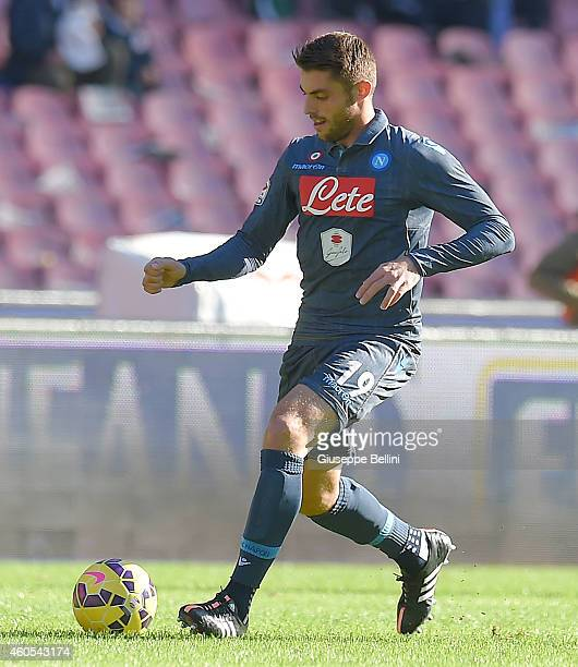 David Lopez of Napoli in action during the Serie A match between SSC Napoli and Empoli FC at Stadio San Paolo on December 7 2014 in Naples Italy