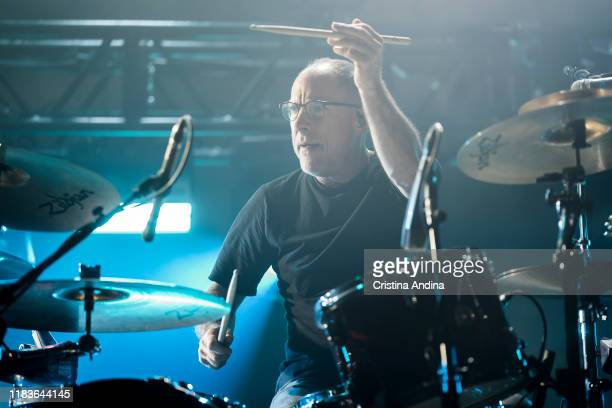 David Lovering of Pixies performs on stage at Coliseum A Coruña on October 26 2019 in A Coruna Spain