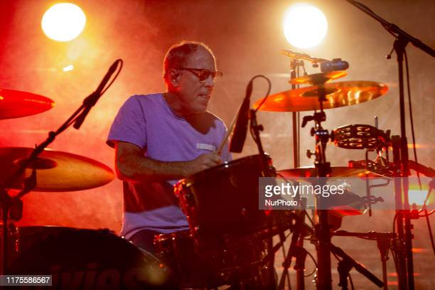 David Lovering of the american alternative rock band Pixies performing live at OGR Turin Italy