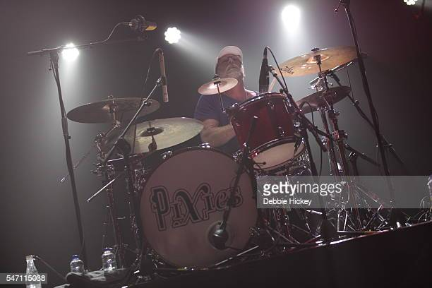 David Lovering of The Pixies performs at The Marquee on July 13 2016 in Cork Ireland