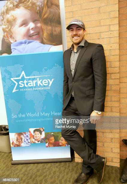 David Lucado attends the Starkey Hearing Foundation Mission during GRAMMY Camp at University of Southern California on January 22 2014 in Los Angeles...