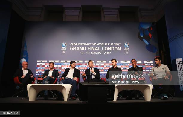 David Lucas Nielsen Sports Head of International Federations Christian Volk FIFA Head of Digital Marketing Todd Sitrin EA SPORTS SVP and General...