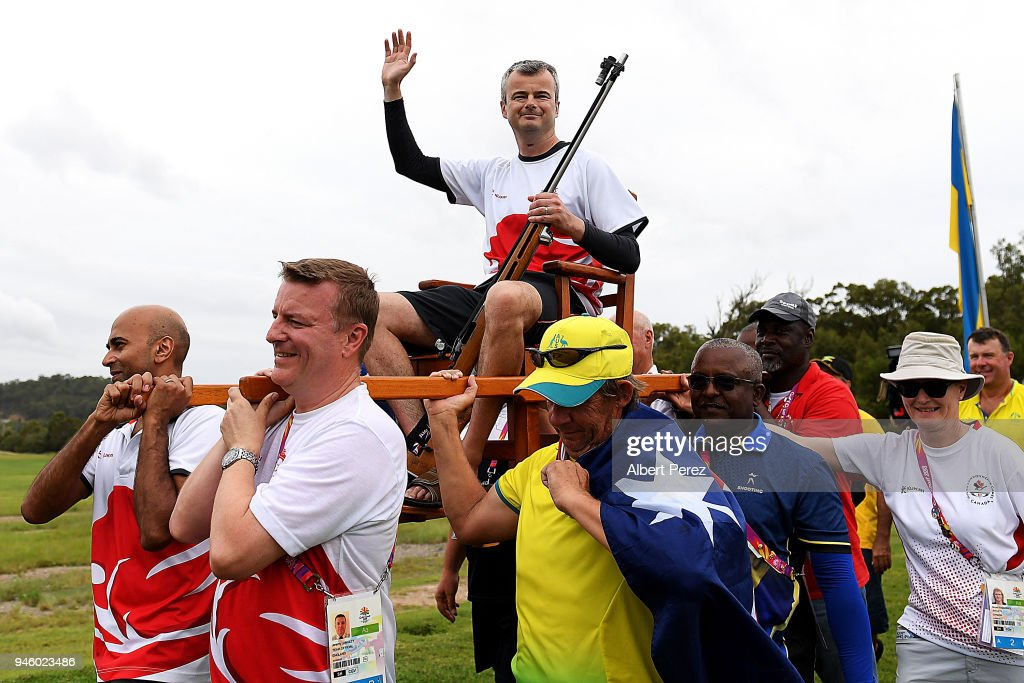 Shooting - Commonwealth Games Day 10 : News Photo
