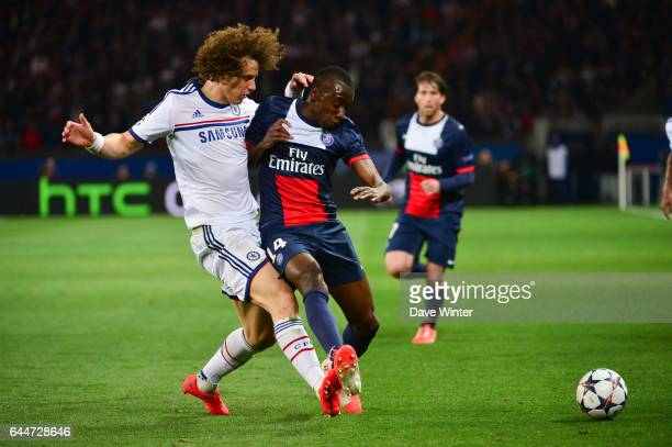 David LUIZ / Blaise MATUIDI Paris Saint Germain / Chelsea 1/4Finale Aller Champions League Photo Dave Winter / Icon Sport