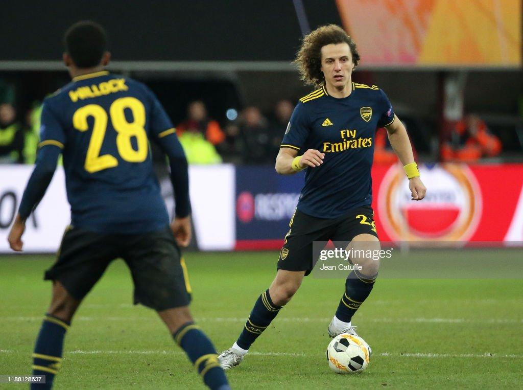 Standard Liege v Arsenal FC: Group F - UEFA Europa League : News Photo