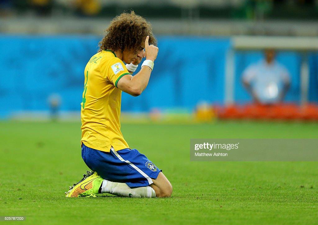 SOCCER : FIFA World Cup 2014 - Semi Final - Brazil v Germany : News Photo