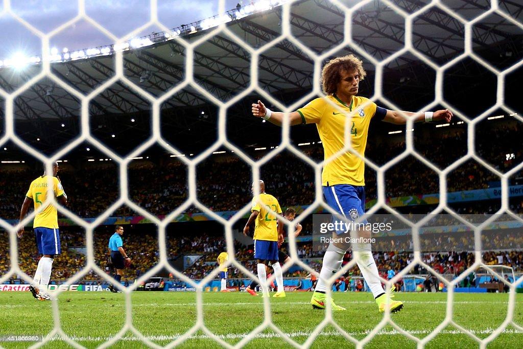 Brazil v Germany: Semi Final - 2014 FIFA World Cup Brazil : Photo d'actualité