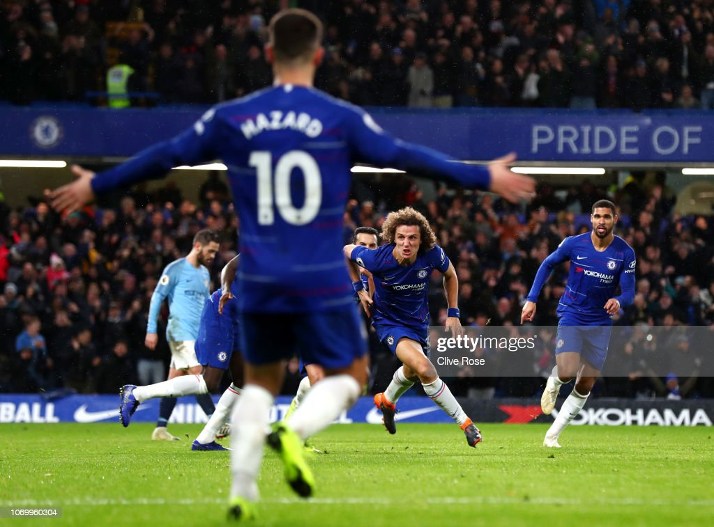 Chelsea FC v Manchester City - Premier League : News Photo