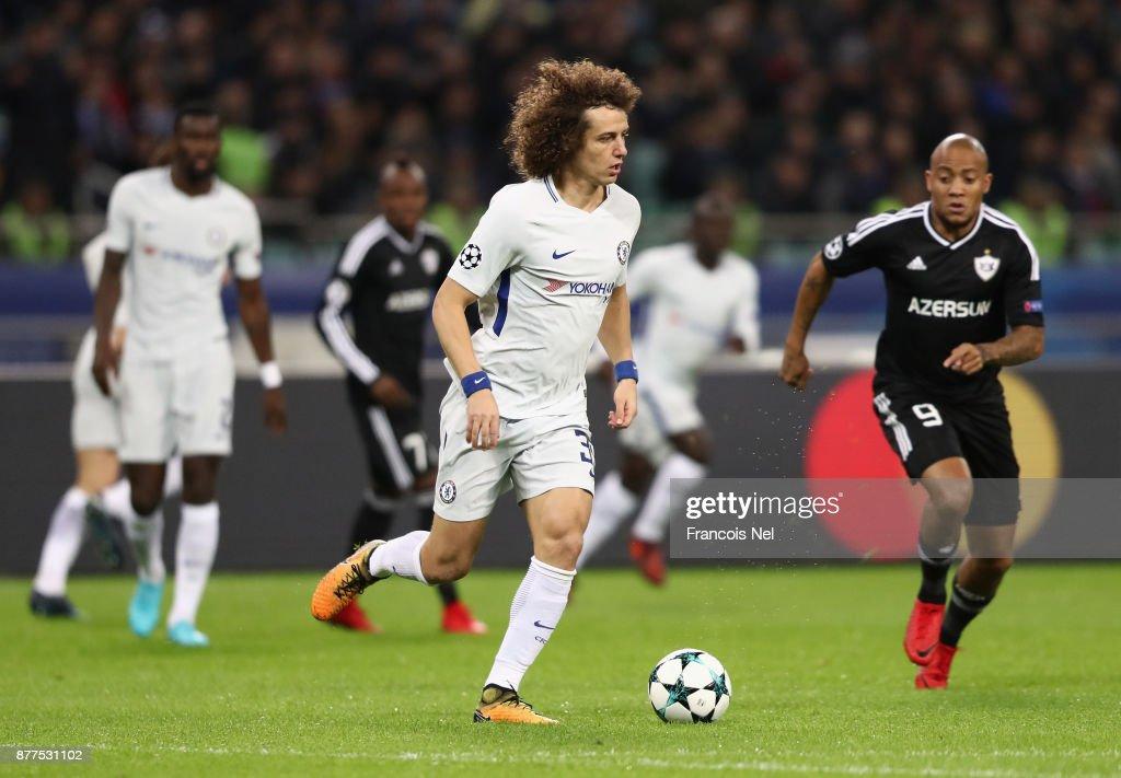 Qarabag FK v Chelsea FC - UEFA Champions League : ニュース写真
