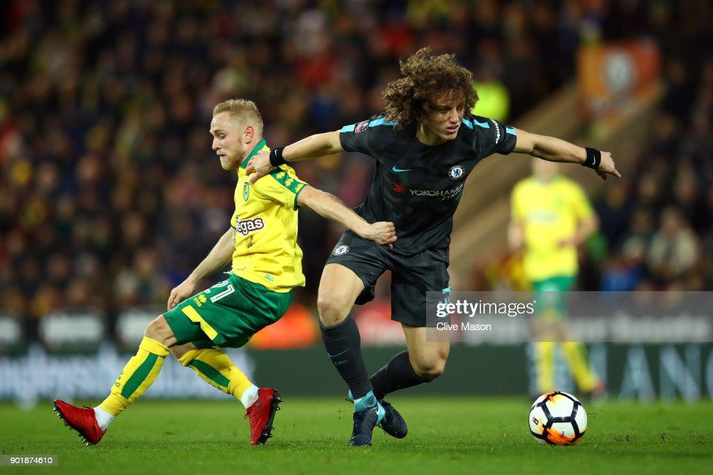 Norwich City v Chelsea - The Emirates FA Cup Third Round : Nachrichtenfoto