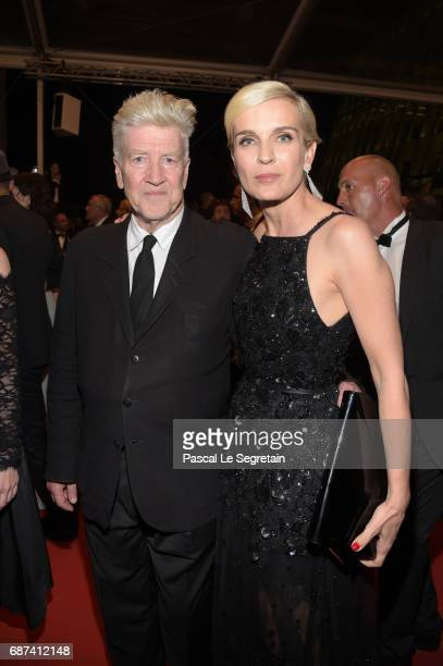 David Lynch and Marrakech International Film Festival director Melita Toscan Du Plantier leave the 70th Anniversary of the 70th annual Cannes Film...