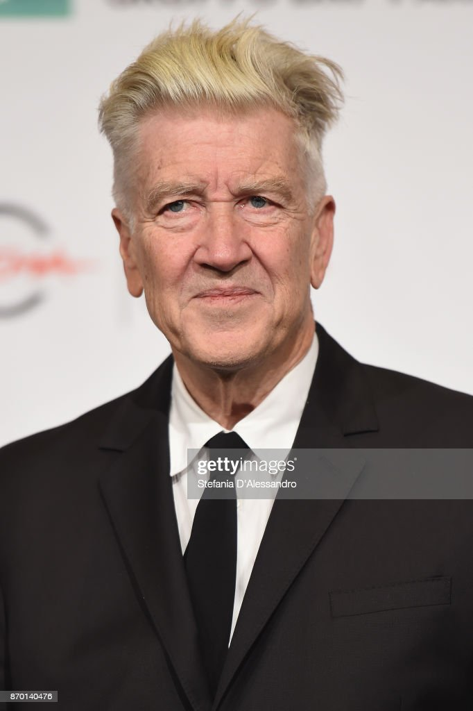 David Lynch attends a photocall during the 12th Rome Film Fest at Auditorium Parco Della Musica on November 4, 2017 in Rome, Italy.