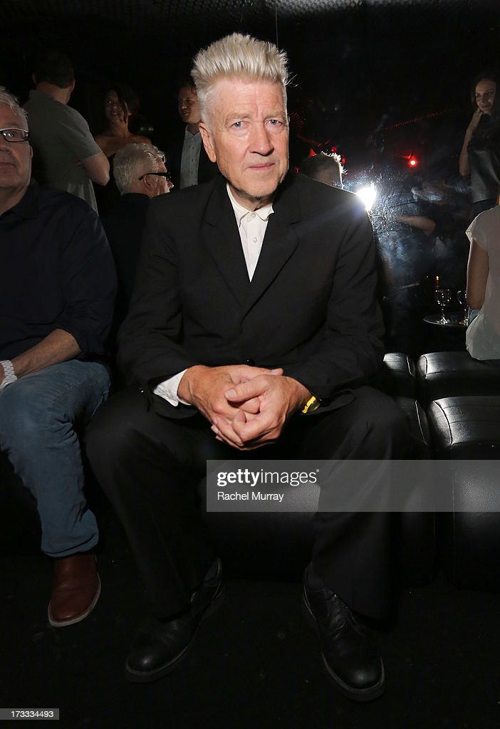 David Lynch attends Flaunt Magazine and David Lynch celebrate the Shared Releases Of Context Issue and The Big Dream at an event powered by Dell at mmhmmm at The Standard, Hollywood on July 11, 2013 in Hollywood, California.