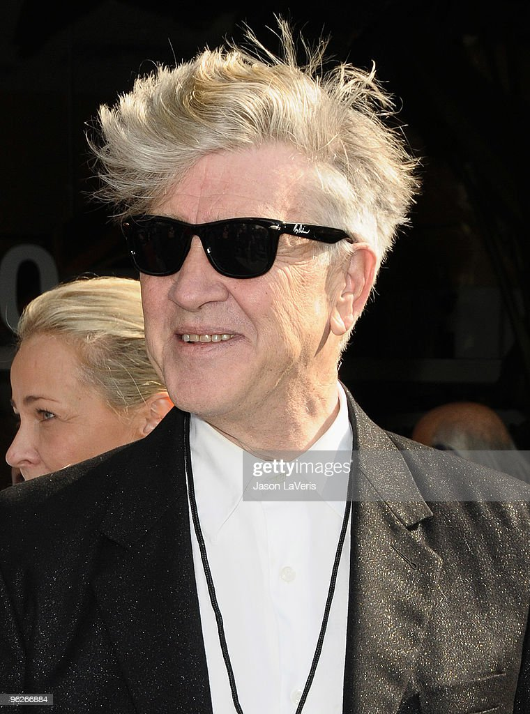David Lynch attends Roy Orbison's induction into the Hollywood Walk Of Fame on January 29, 2010 in Hollywood, California.