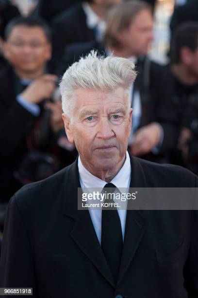 David Lynch attends the 70th Anniversary of the 70th annual Cannes Film Festival at Palais des Festivals on May 23 2017 in Cannes France