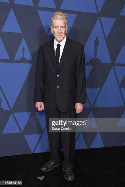 David Lynch attends the Academy Of Motion Picture Arts And Sciences' 11th Annual Governors Awards at The Ray Dolby Ballroom at Hollywood & Highland...