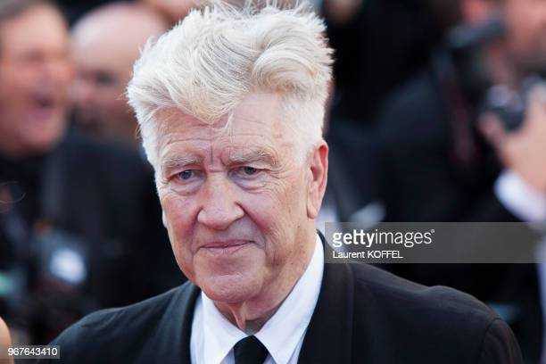 David Lynch attends the Closing Ceremony of the 70th annual Cannes Film Festival at Palais des Festivals on May 28 2017 in Cannes France