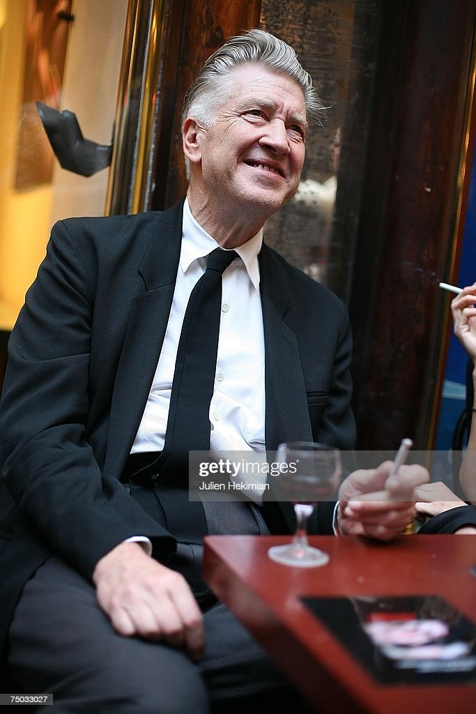 David Lynch attends the opening of the Christian Louboutin/David Lynch cocktail party at the Galerie du Passa on July 4, 2007 in Paris, France.