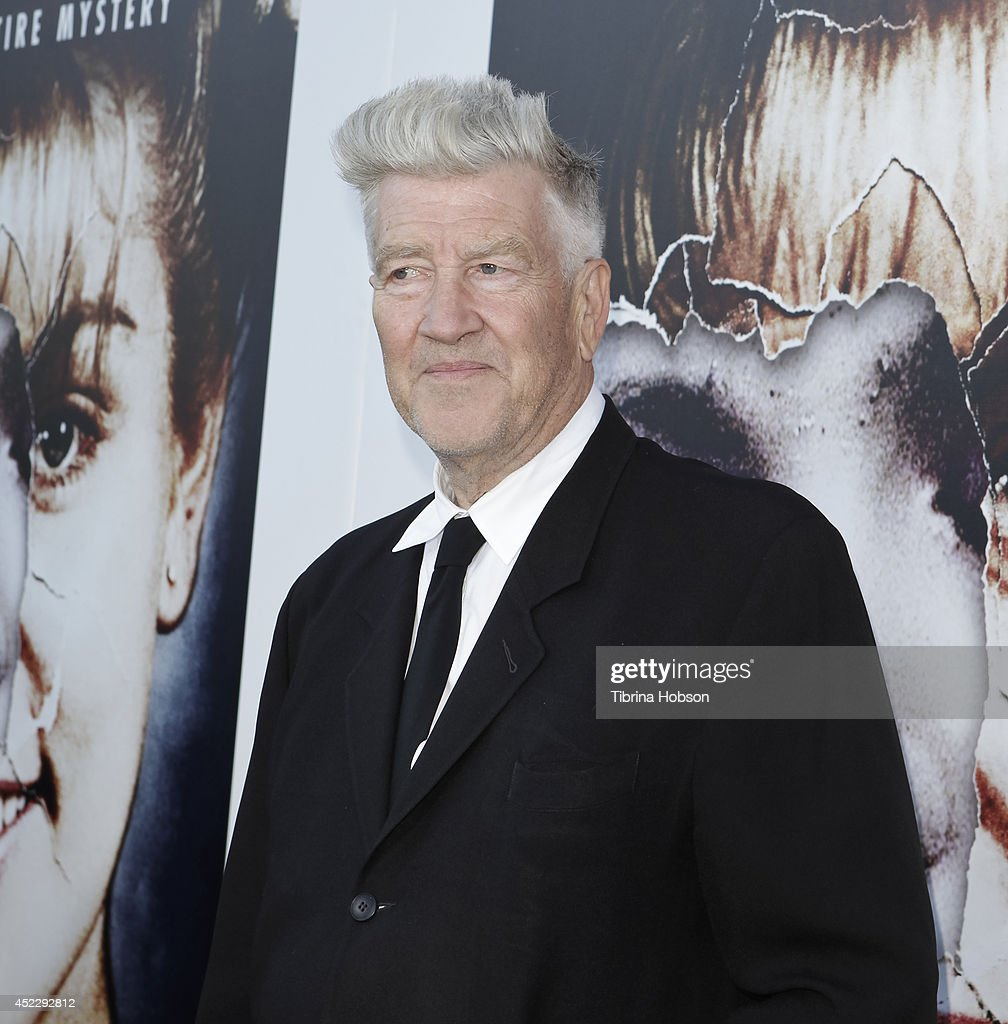 David Lynch attends the 'Twin Peaks' Blu-Ray/DVD release party and screening at the Vista Theatre on July 16, 2014 in Los Angeles, California.