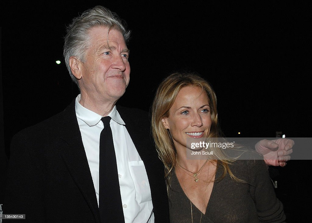 David Lynch, director and Sheryl Crow during 'Inland Empire' Los Angeles Premiere - Red Carpet and Q&A at Bing Theater at LACMA Museum in Los Angeles, California, United States.