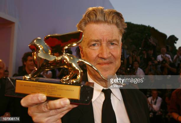 David Lynch ,director during The 63rd International Venice Film Festival - Golden Lion Lifetime Achievement Awards Presented to David Lynch and...