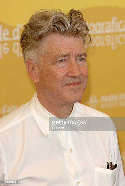 "David Lynch, director during The 63rd International Venice Film Festival - ""Inland Empire"" - Press Conference at Palazzo del Casino in Venice, Italy."