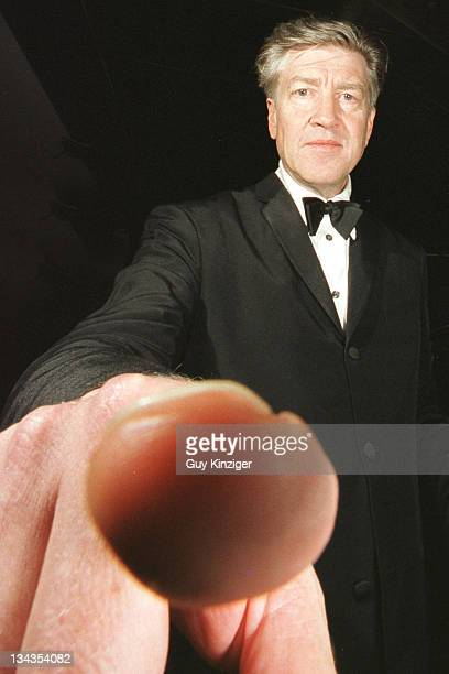 David LYNCH during Cannes Film Festival 2001 at Palais des Festivals in Cannes, France.