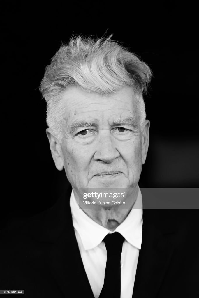 David Lynch walks the red carpet during the 12th Rome Film Fest at Auditorium Parco Della Musica on November 4, 2017 in Rome, Italy.