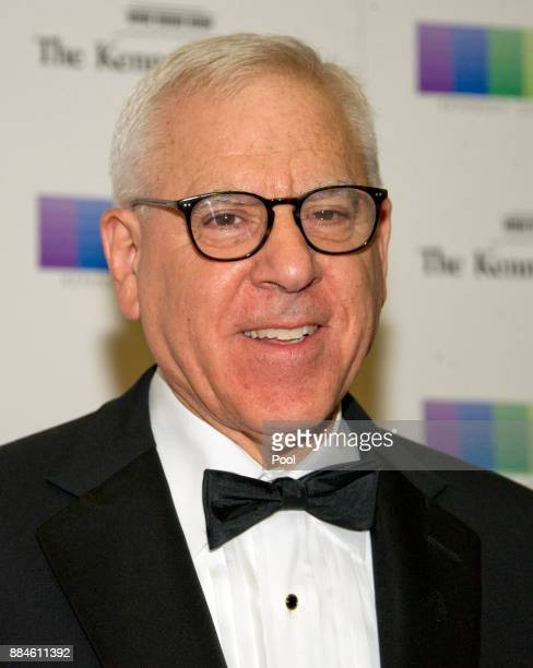 David M Rubinstein arrives for the formal Artist's Dinner honoring the recipients of the 40th Annual Kennedy Center Honors hosted by United States...